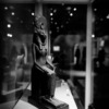 A small statue of the lion-headed goddess Sekhmet