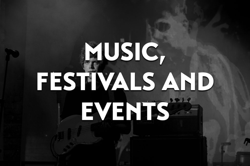 featured image for the music, festivals and events gallery