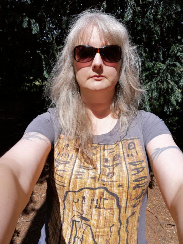 A selfie of Julia Thorne